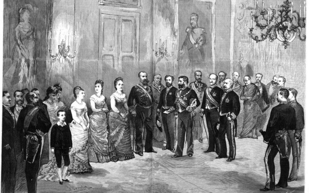 1877: una petición de mano real y mediática