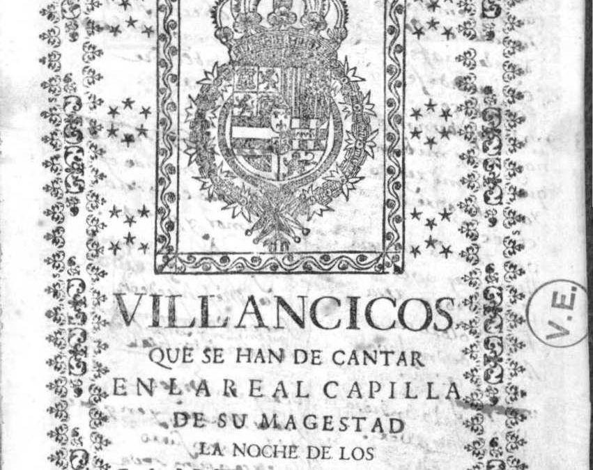 Villancicos del día de los Reyes Magos: 1716