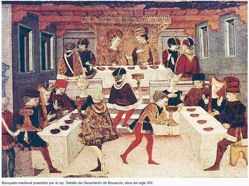 Banquete, mesa y servicio. Palabras LXVI