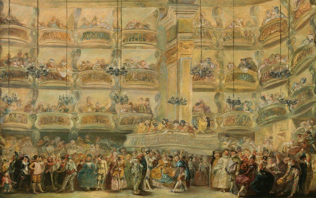 Organizar eventos por decreto: un baile de máscaras en 1767