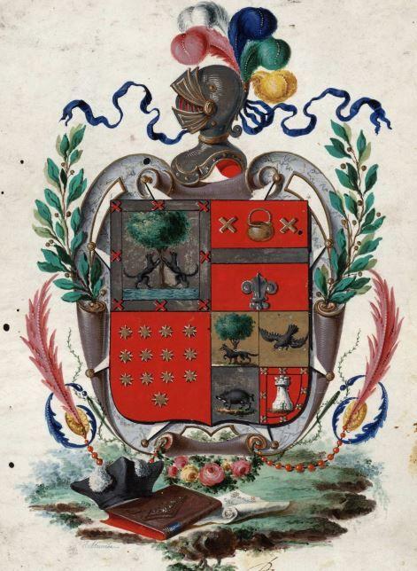 Los nombres del escudo. Palabras CII
