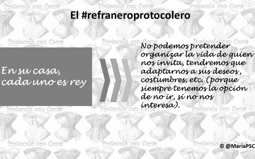 El anfitrión marca la pauta en el #Refraneroprotocolero