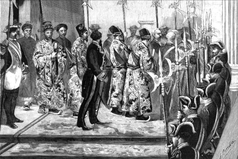 Embajadores extraordinarios: visitas del XIX