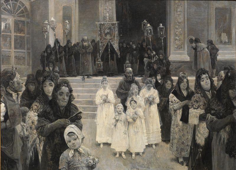 primera comunión sacramento