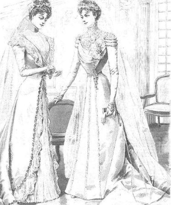 El vestido de boda sale del Anaquel XLIX