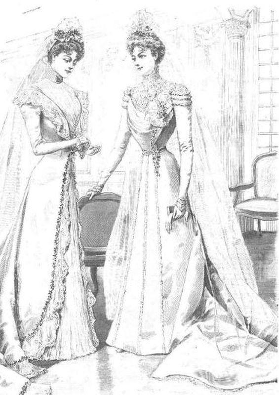 Vestido boda anaquel
