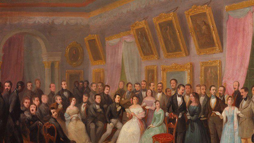Salones, sociabilidad y cortesía en el Madrid Romántico