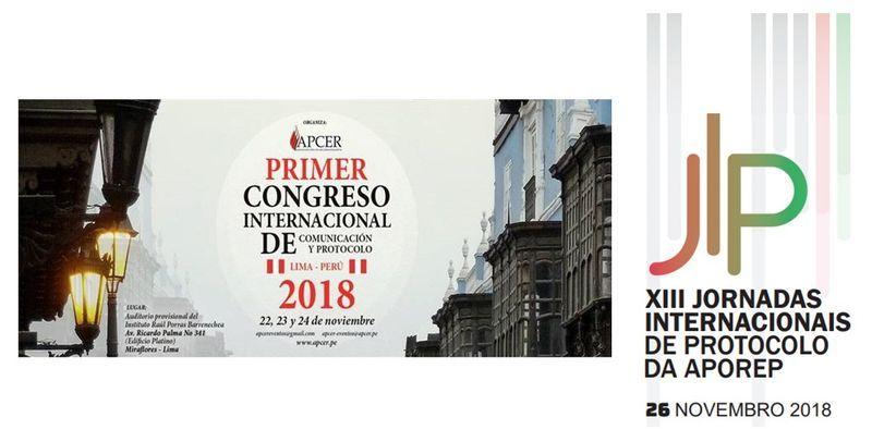 Congreso y Jornadas. Protocolo y eventos en Lima y Lisboa.