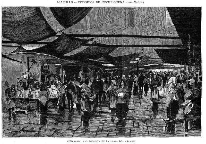Nochebuena 1880: tradiciones y costumbres
