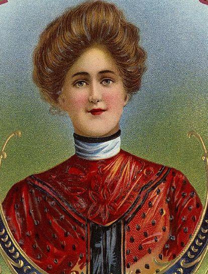La mujer de negocios en 1874