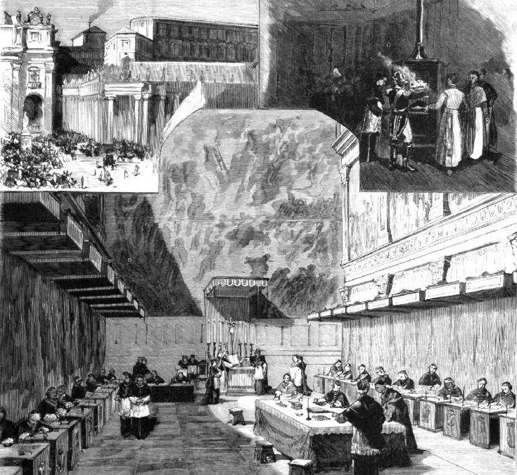 Cardenales de cónclave en 1878: ceremonia y secretismo