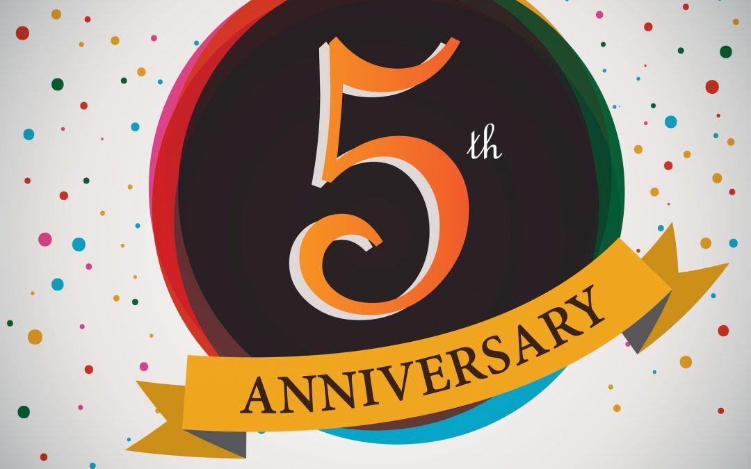 Cinco años de Protocolo con Corsé, estamos de cumpleaños