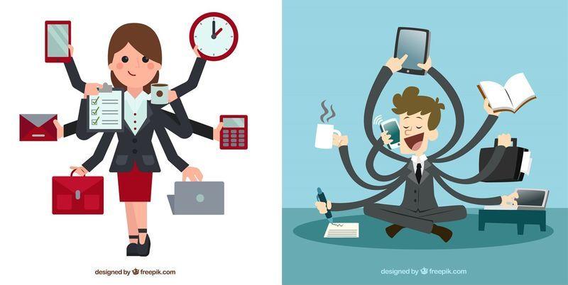 El ataque de los multitarea [Revisión]