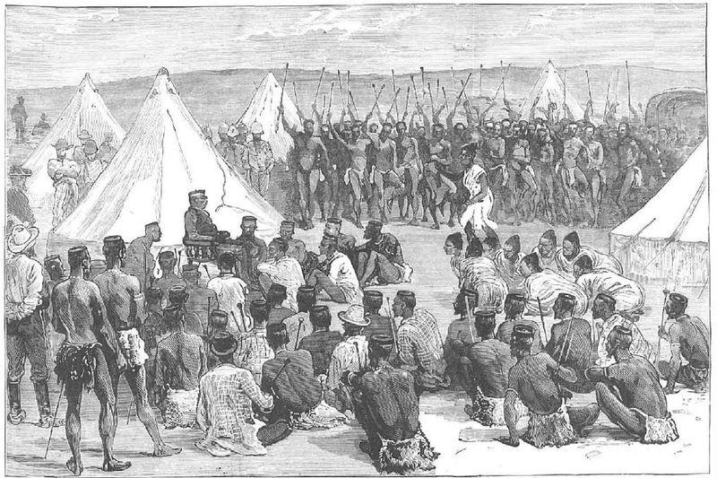 La Indaba, una ceremonia zulú