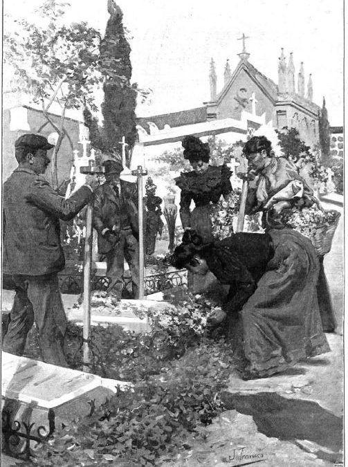 Costumbres en Todos los Santos (1899)