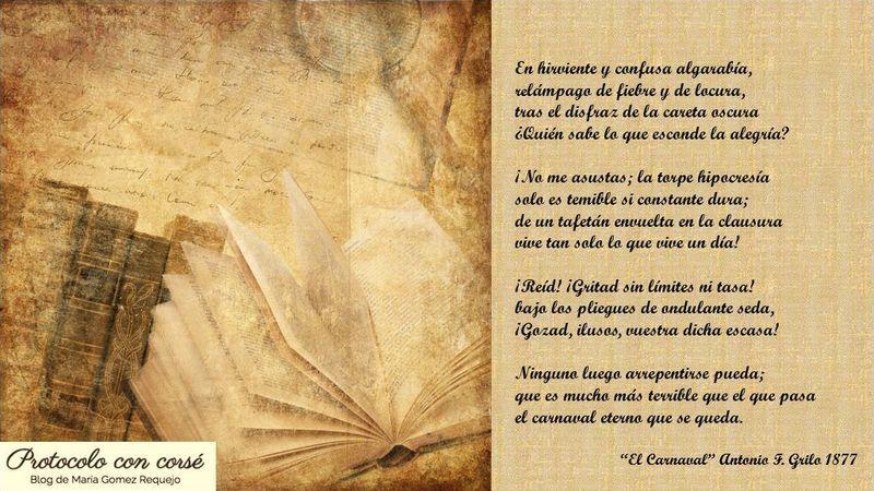 Carnaval en un soneto, #todoestáenloslibros