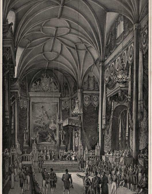 Ceremonial para el acto solemne de Jura como heredera de la Corona