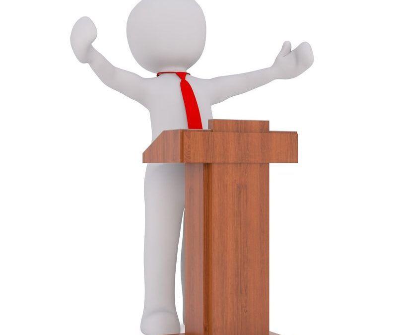 Palabras políticas: directrices y consignas en discursos, proclamas y soflamas