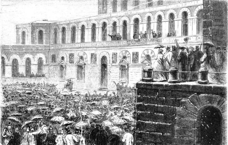 Rey por votación en las Cortes que fue botado, sin votación ni violencia, por las mismas
