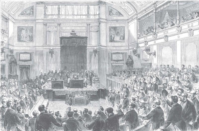Protocolo para la jura del rey electo: Amadeo de Saboya se convierte en Amadeo I ante un Congreso entregado