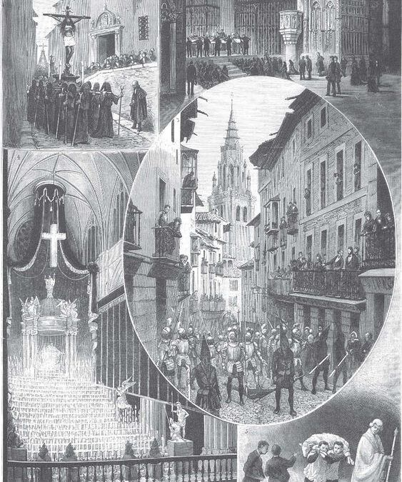Semana Santa en Toledo 1884