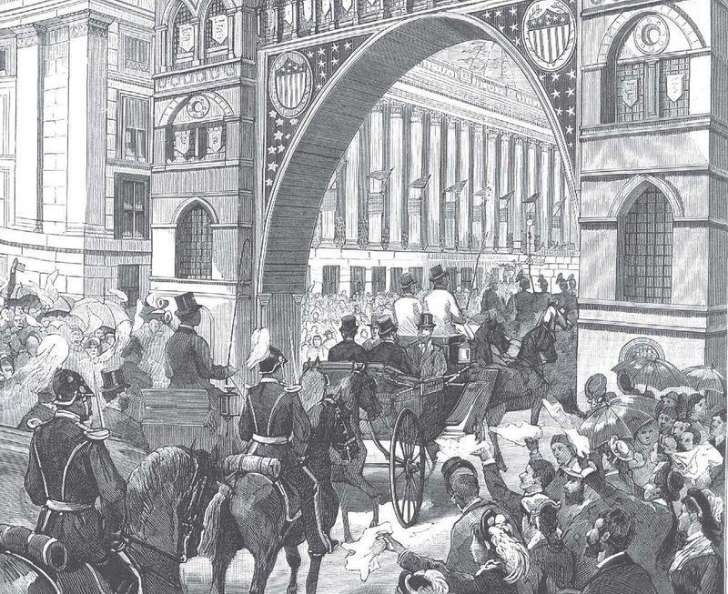 El Inauguration Day de 1881: un acto oficial solemne y memorable